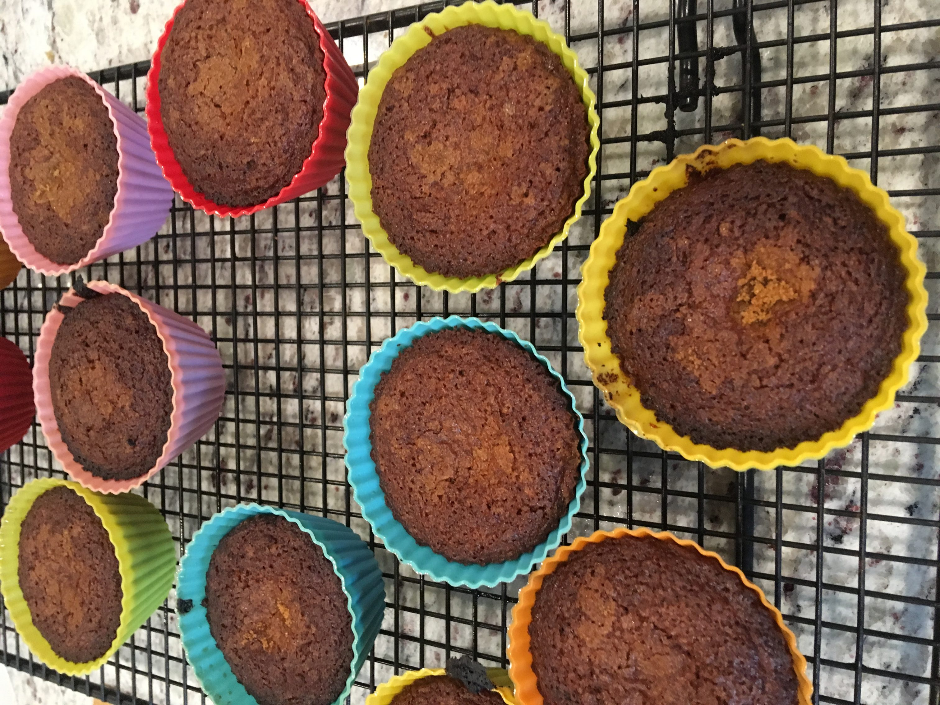 Apple Sauce Muffins with Spent Grain