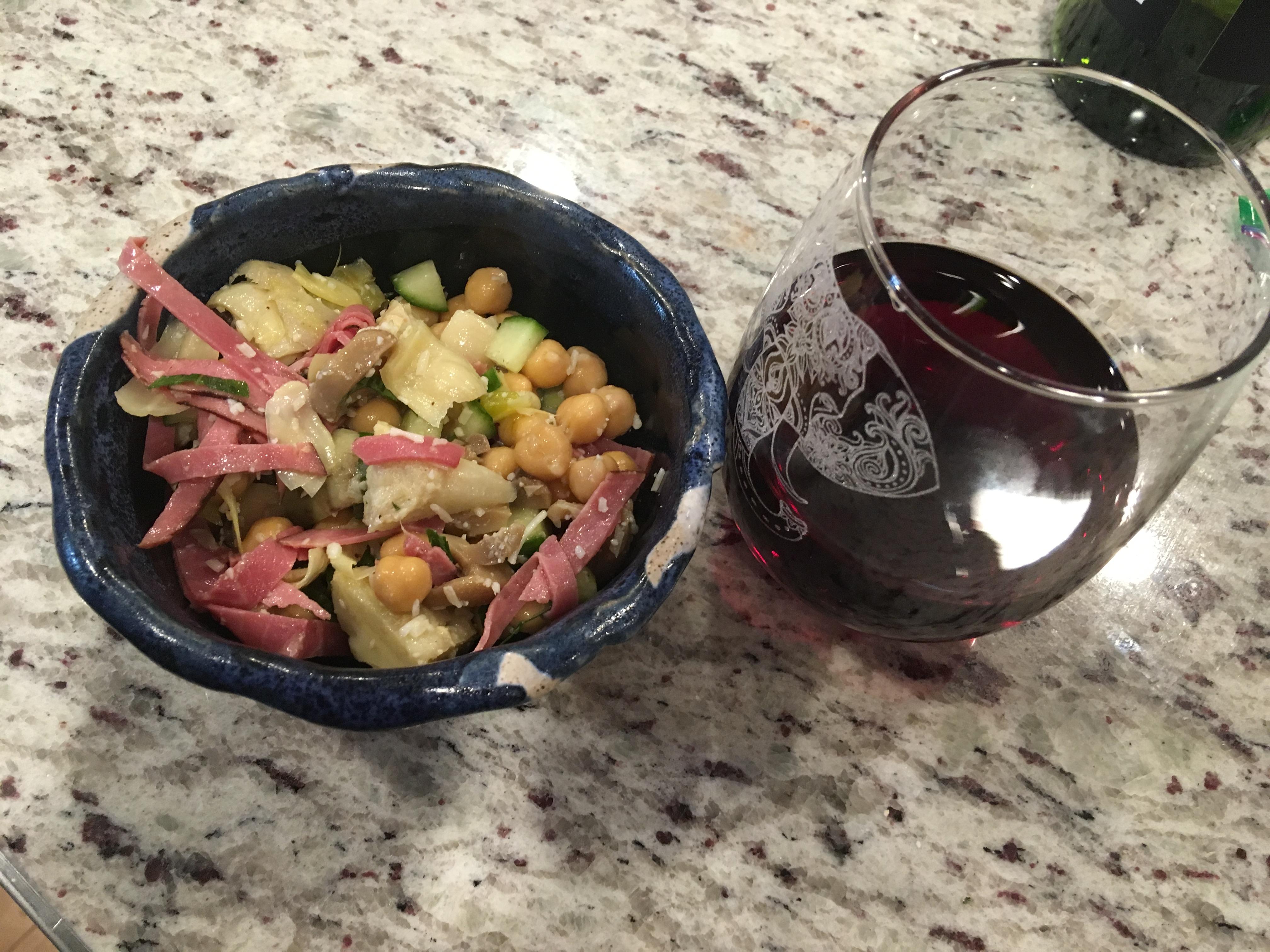 Artichoke And Beef Salad