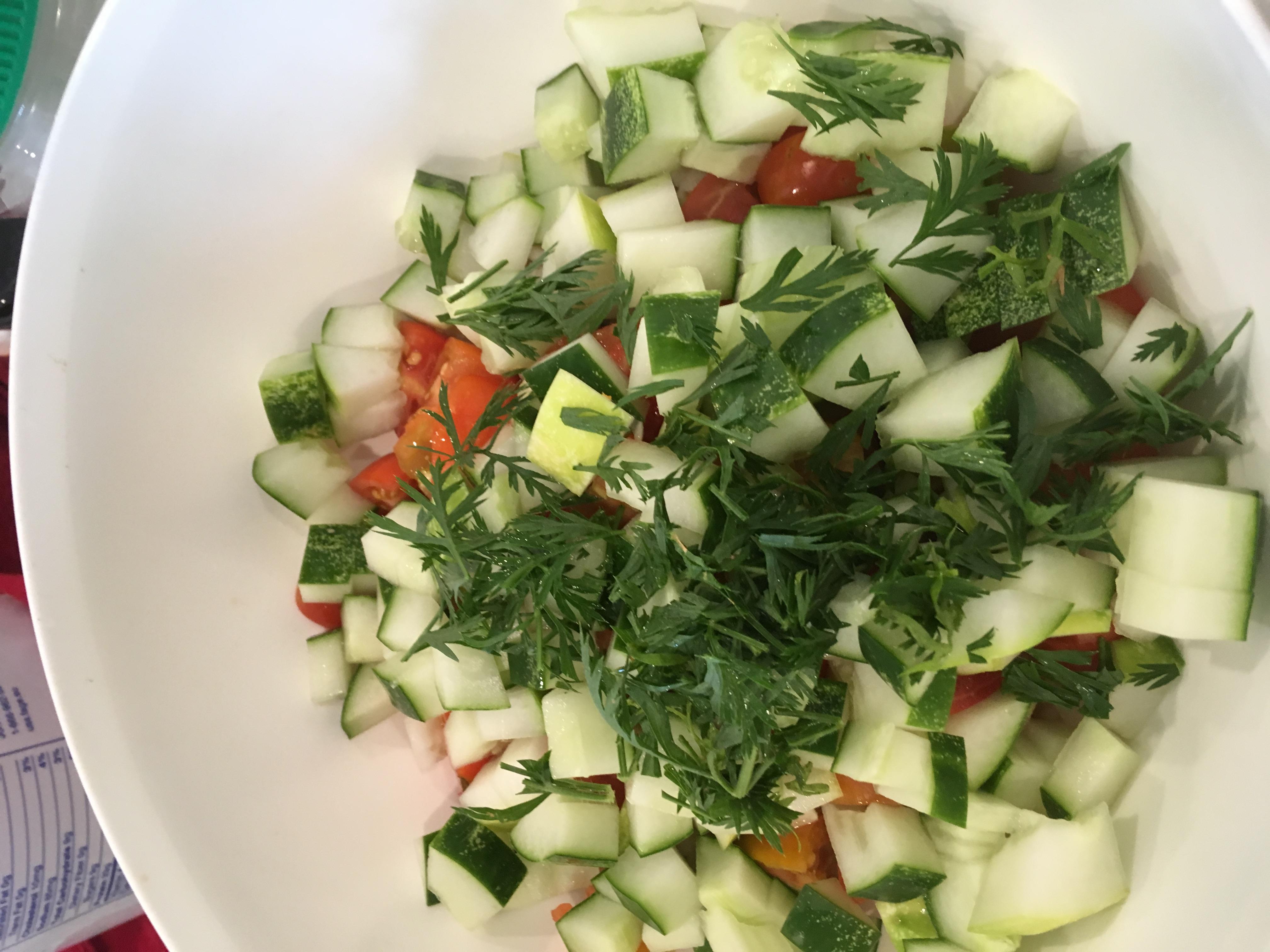 Carrot Top Tabouli Salad