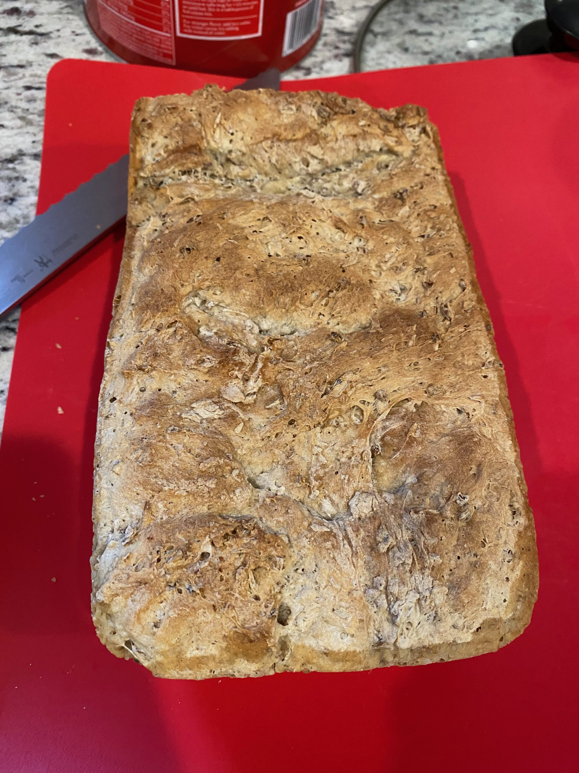 Spent Grain Beer Bread