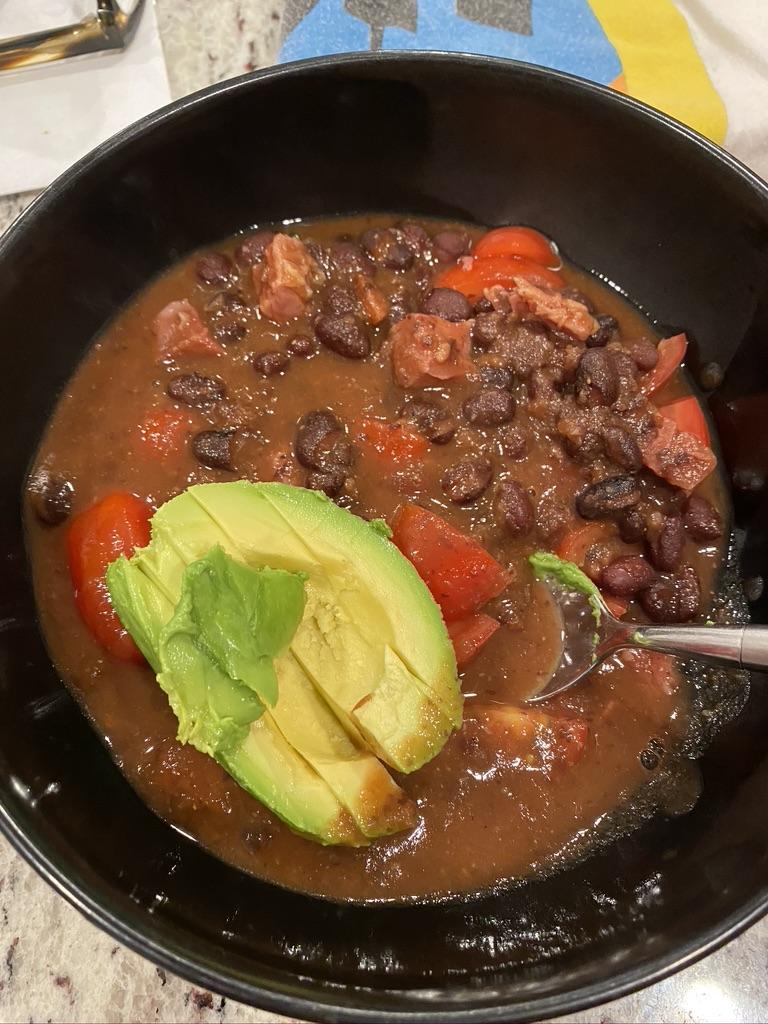 Cuban Black Bean Soup (slow cooker)