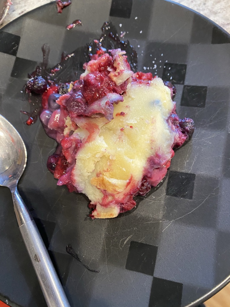 Berry Breakfast Custard